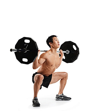 Regular Back Squat